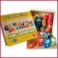 ABC Domino Wooden 52 Pcs 日单ABC字母多米诺骨牌 52块装