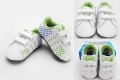 ADIDAS Green White BB Shoe 白/绿PU面料BB鞋