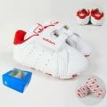 Adidas Red & Silver Shoe 红色学步鞋