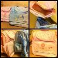 BABY ESSENTIAL Diaper Bag ~ Pink