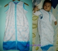 BABY LITTLE ME Textile Sleeping Bag (Blue) 全棉蓝色睡袋