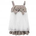 BUTTERFLY Chiffon Dress 咖啡色裙子