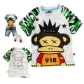 Bape Monkey Cartoon Tee 猴子卡通上衣 (Design 1)
