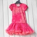 Beautees Butterfly Pink Dress 原单女童连衣纱裙