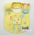 Carter's Baby Waterproof Bib- Yellow Giraffe 口水巾