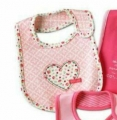 Carter's Baby Waterproof Bib- Heart 口水巾