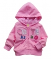 Carter's CUTE Sweet Pink Hoodie Jacket 贴布绣粉色外套