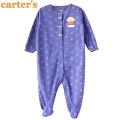 Carter's Cupcakes Purple Sleeper 紫色蛋糕长袖哈衣