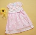 Ciel Princess Pink Chiffon Dress 纯棉纱裙粉色连衣裙(Restock)