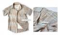 DDK Khakis Checker Boy Shirt 男童短袖衬衫
