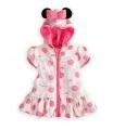 DISNEY Minnie Mouse Polkadots White Dress with Zip 女童白色粉圆点米妮裙