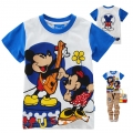 Disney Mickey Mouse Cartoon Tee 米奇老卡通上衣 (Design 17)
