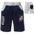 Disney Mickey Blue/Grey Quarters Pant 米奇纯棉短裤(Design 11)