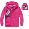 Disney Minnie Mouse Pink Hoodie Jacket 粉红色米尼带帽外套 (Design 4)