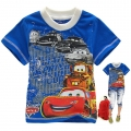 Disney Pixar Car Cartoon Tee 汽车总动员卡通上衣 (Design 14)