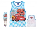 Disney Pixar Car Cartoon Tee 汽车总动员卡通上衣 (Design 33)