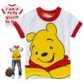 Disney Winnie the Pooh Cartoon Tee 维尼熊印花纯棉上衣(Design 1)