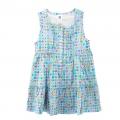 GAP Blue Bubbles Dress 浅蓝色满身印花梭织背心裙