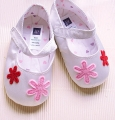 GAP Flower Silver Shoe 立体花花鞋鞋