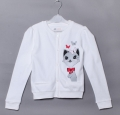 H&M Kitten White Sweater 猫猫白色外套