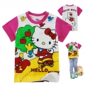 Hello Kitty Cartoon Tee 卡通上衣 (Design 12)