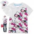 Hello Kitty Cartoon Tee 卡通上衣 (Design 13)