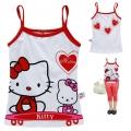 Hello Kitty Cartoon Tee 卡通上衣 (Design 19)