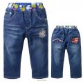 MSC Mickey Long Jeans 米奇贴布绣花纯棉牛仔长裤 (Design 2)