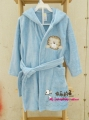Mom&Baby Blue Lion Bath/Sleeping Robe 蓝色狮子浴袍/睡袍