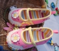 Mothercare Flower Rainbow Pram Shoe 立体太阳花鞋鞋