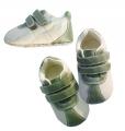 Mothercare Green White Boy Crib Shoe 青白男生鞋