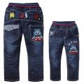 SCB Thomas Train Long Jeans 火车头纯棉洗水牛仔长裤 (Design 5)