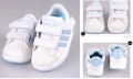 ADIDAS Blue White Shoe(with light)  白/月色休闲鞋(有鞋灯)