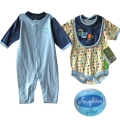 ANGEL LITTLE Cute Baby 3 Pcs Set 可爱哈衣三件套