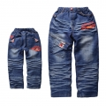AQDDZ Pixar Car Denim Jeans 汽车总动员纯棉牛仔长裤 (Design 2)