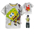 AQDDZ Sponge Bob Cartoon Tee 海棉宝宝卡通上衣 (Design 1)
