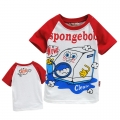 AQDDZ Sponge Bob Cartoon Tee 海棉宝宝卡通上衣 (Design 2)