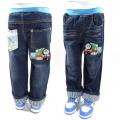 AQDDZ Thomas Train Long Jeans (Design 2) 韩单/火车头纯棉洗水牛仔长裤