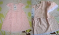 Adam Floral Pink Dress 全棉粉色小花公主袖连身裙