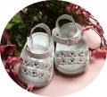 Adams Baby White Sandals 女生白色凉鞋