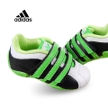 Adidas Green Black Velcro White Sport Shoe 白黑绿小童款休闲鞋