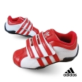 Adidas Red Stripe Velcro White Sport Shoe 白大红小童款休闲鞋