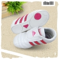 Adidas Red White Velcro White Sport Shoe 白梅红小童款休闲鞋
