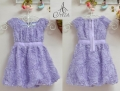 Amissa Roses Purple Tutu Dress 紫色玫瑰裙子