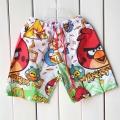Angry Bird Boxer Pant 外贸卡通愤怒鸟梭织沙滩裤