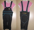 Ano:ne  Smally 2 Pcs Overalls Set ~ Pink 粉色背带裤套装