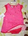 B.T.Kids Pink 2 Pcs Dress Set 玫红色2件裙套装