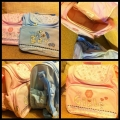 BABY ESSENTIAL Diaper Bag ~ Pink