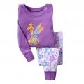 BABY GAP Fairies Purple Pyjamas Set 紫色蝴蝶仙子印花针织家居套装