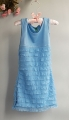 BENETTON Blue Layers Dress 千层蛋糕裙【蓝】
